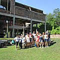 2019-08-24 guided walk with group of old students of mons university