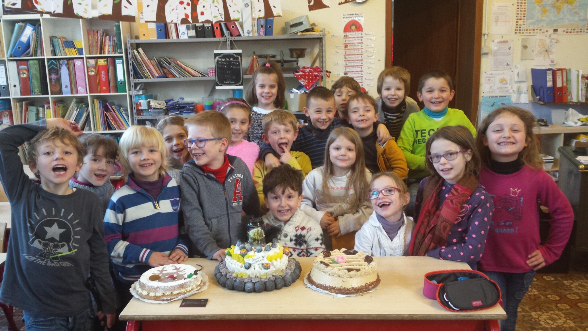 Joyeux Anniversaire Samuel P2 Ecole Maternelle Et Primaire De