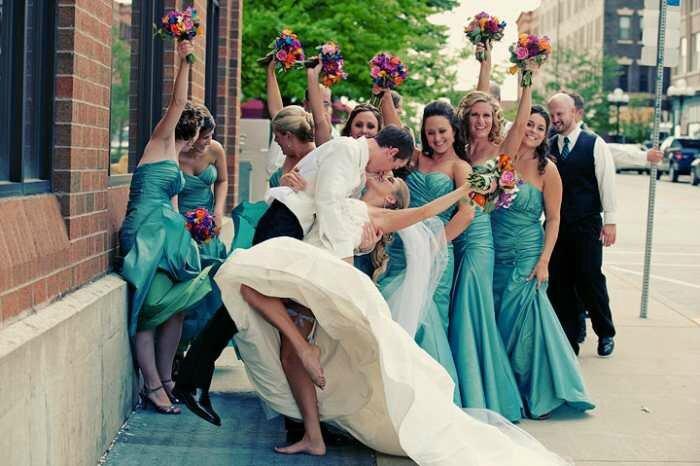 vive le mariage bisou