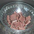 Mousse au chocolat noir de pierre hermé