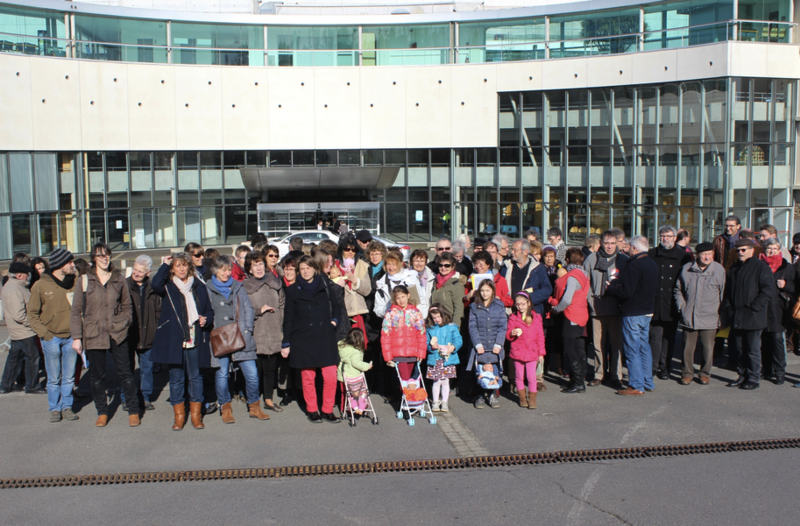 rassemblement-hôpital-Avranches-archives-7 mars 2015