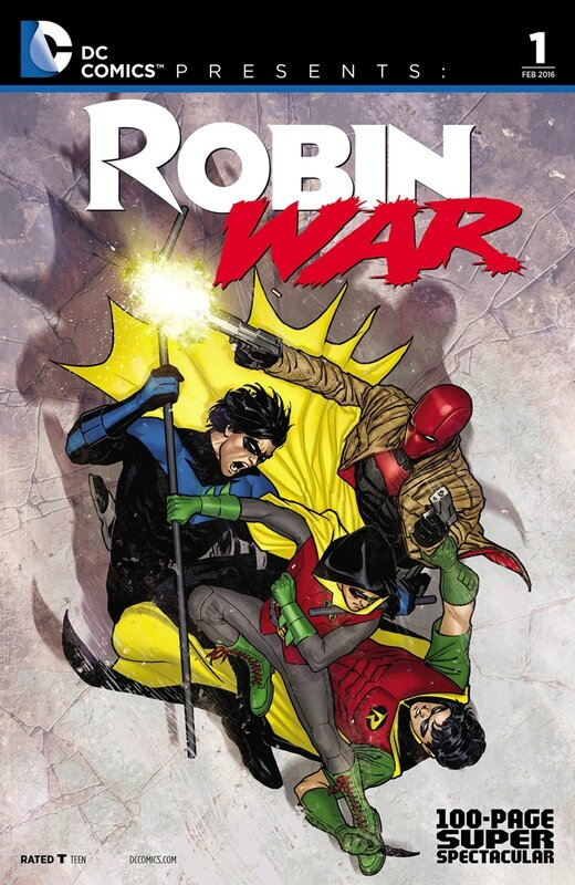 dc comics presents robin war