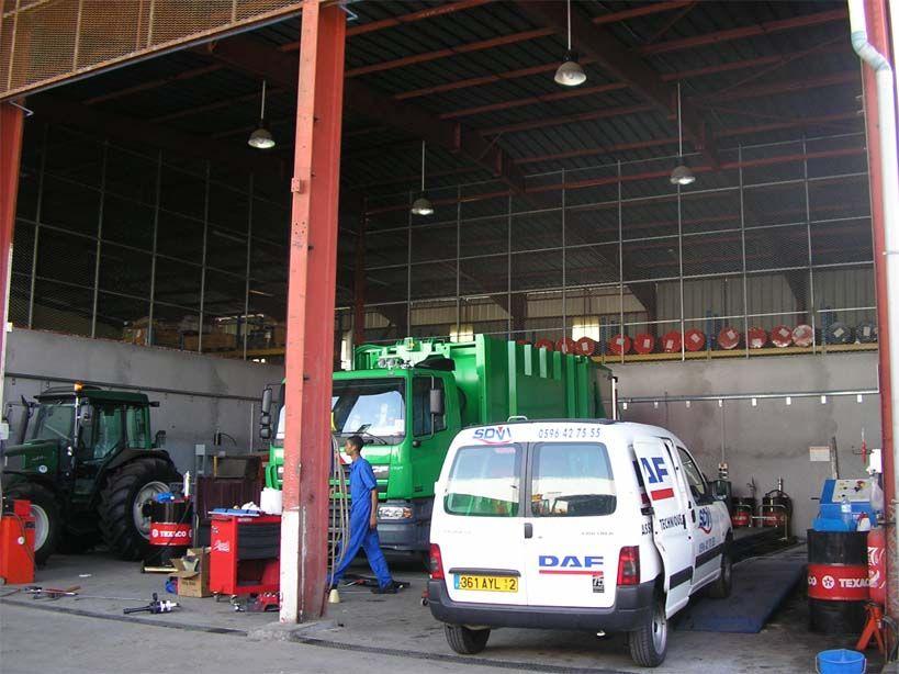 SDVI - Garage camions - LE LAMENTIN