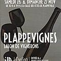 Salon plappevignes à plappeville (57) 26 & 27 novembre