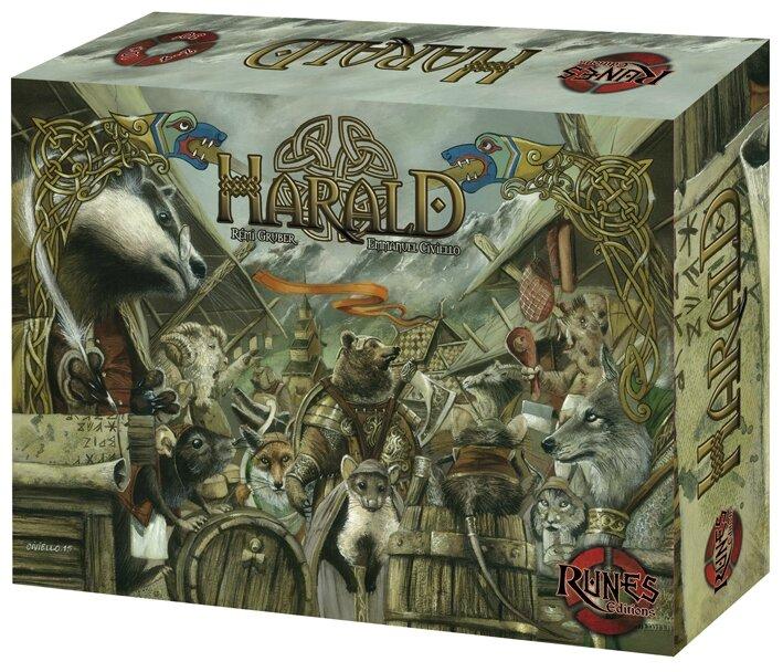 Boutique jeux de société - Pontivy - morbihan - ludis factory - Harald