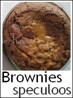 brownies en verrine au palet breton & speculoos index
