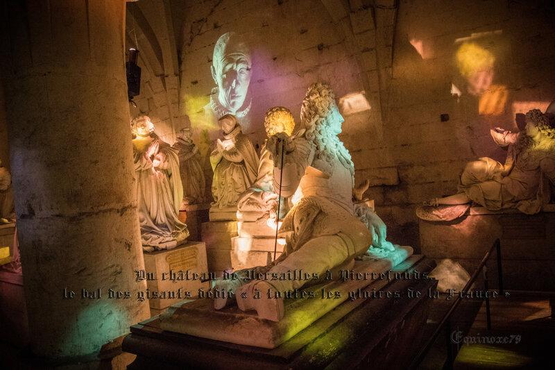 Du château de Versailles à Pierrefonds, le bal des gisants dédié « à toutes les gloires de la France » (1)