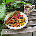Full english breakfast vegan