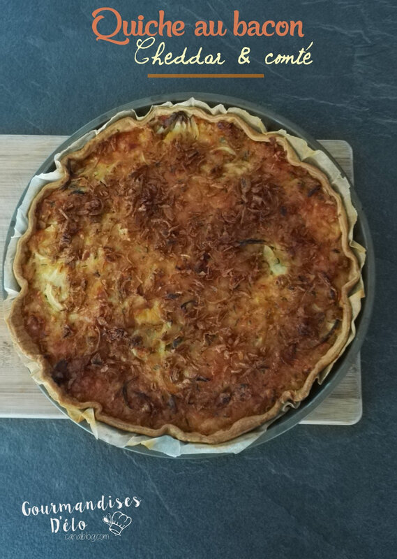 Quiche bacon cheddar comte (5)