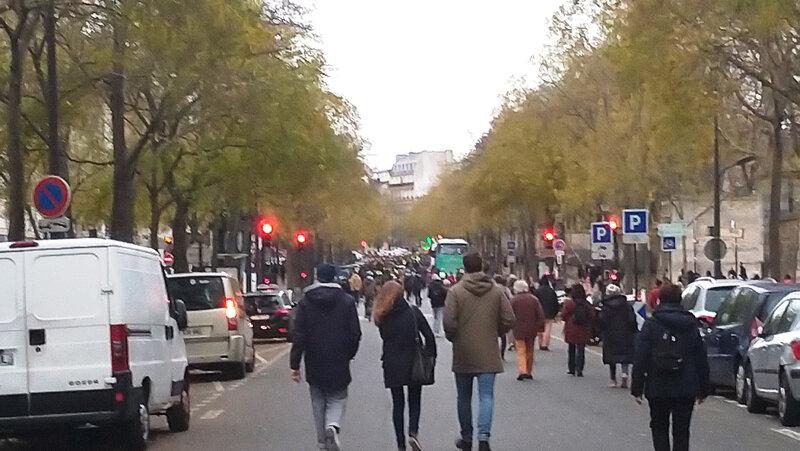 Manifestation du 8 décembre (Paris)