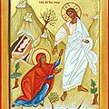 Marie Madeleine et le Christ Ressuscité