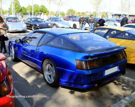 Alpine V6 turbo (Rencard Haguenau avril 2011) 02
