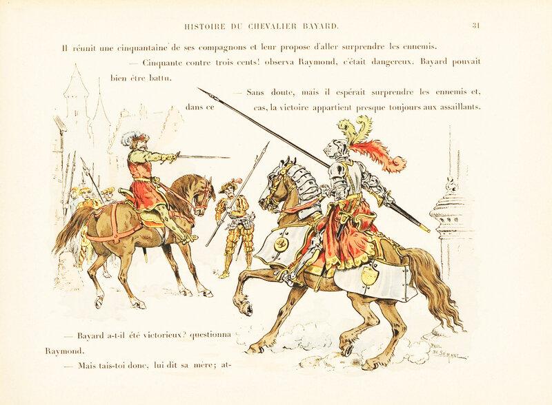 L'histoire de Pierre Terrail, seigneur de Bayard, le chevalier sans peur et sans reproche; le Tournoi d'Aire sous Charles VIII 2
