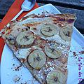 Tarte flambee banane pain d'épices