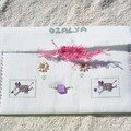 enveloppe reçu d'Ozalya dos