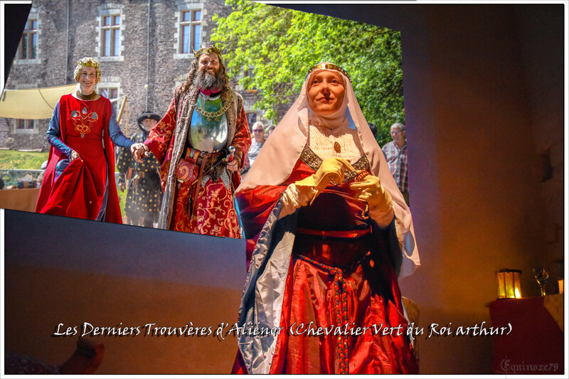les derniers Trouvères d'Aliénor chevaliers Vert du Roi Arthur