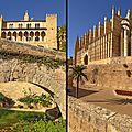 Palma - L'Almundaina et la cathédrale -