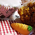 Carrot cake en mode muffin
