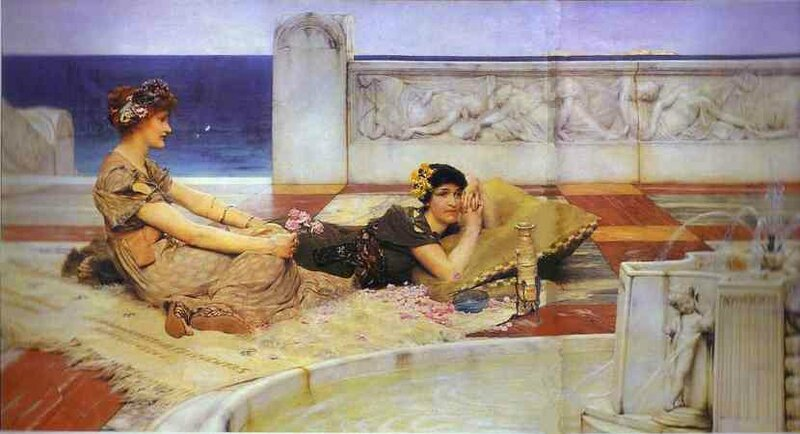 Sir+Lawrence+Alma+Tadema+-+Love+Votaries+