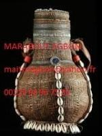 gourde sacrée de commerce du marabout AGBON