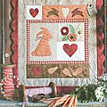 Quilt country bunny love