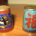 Samoreau, dés chinois