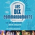 x/ Affiche Des Dix Commandements