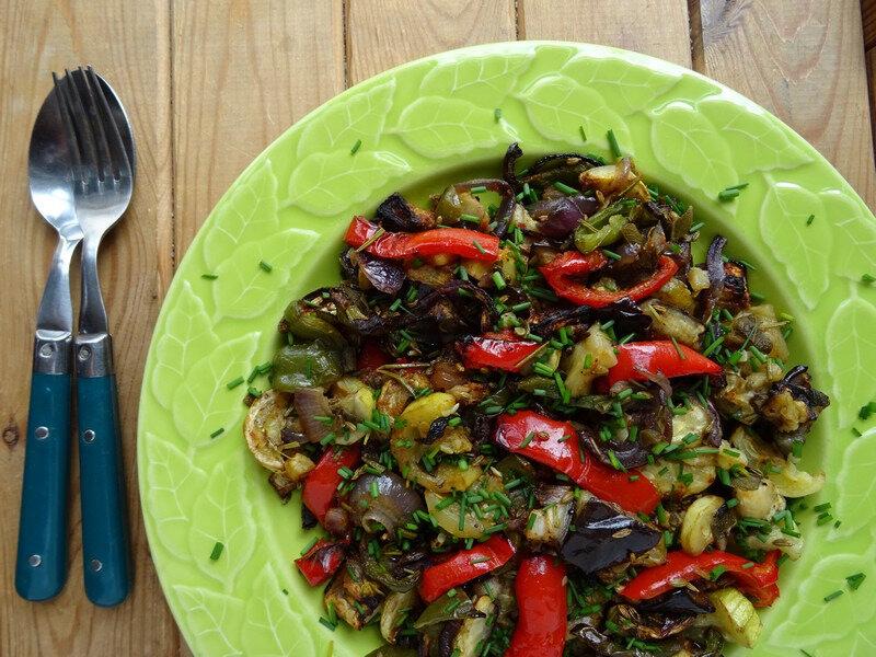 Legumes rotis au four