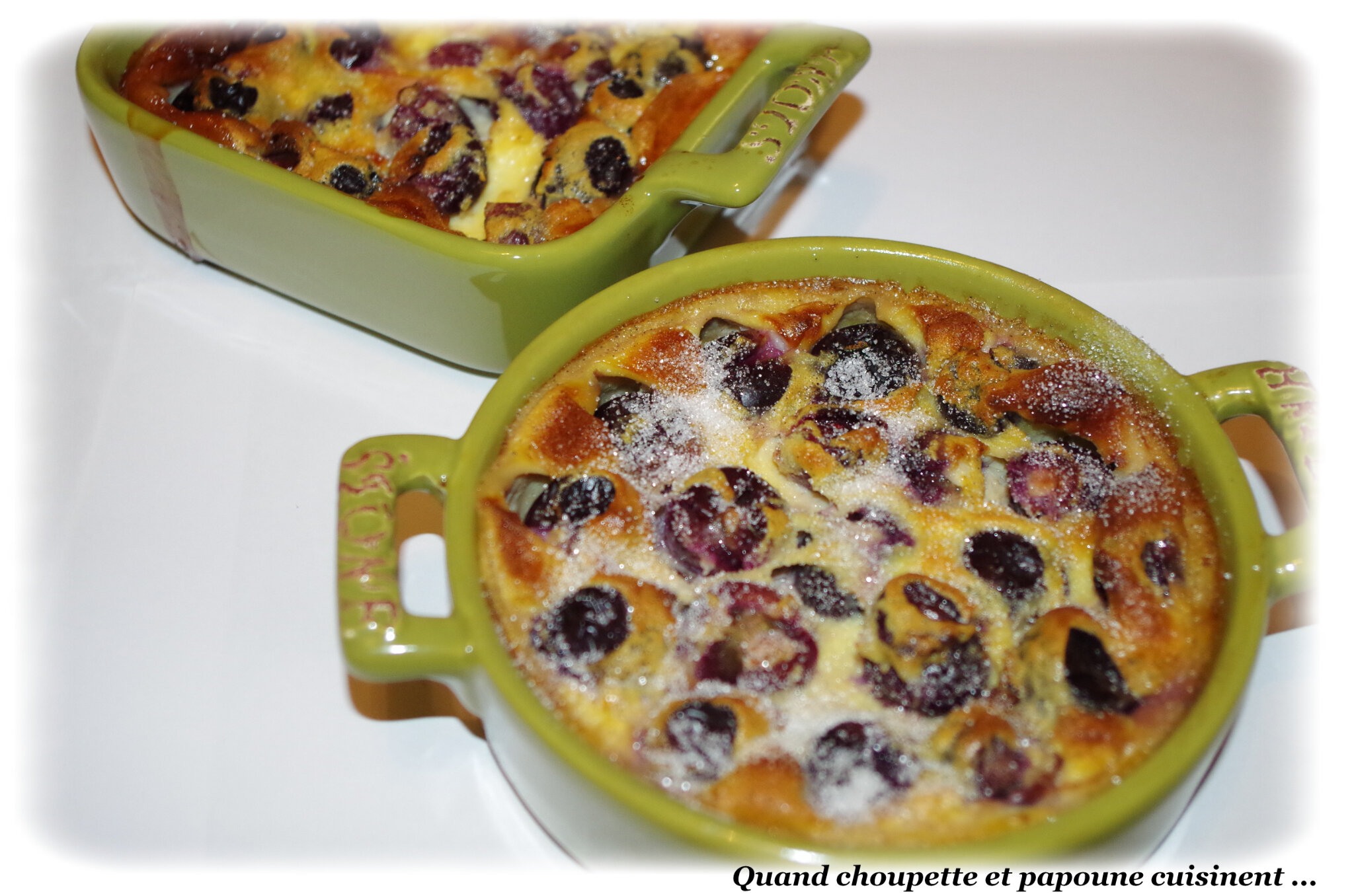 CLAFOUTIS AU RAISIN