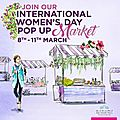 International women's day pop up
