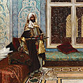 Rudolf ernst (austrian, 1854-1932), the palace guard (awaiting an audience)