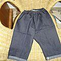 pantalon taille élastique # 4