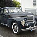 Opel kapitän '39 berline 4 portes 1939