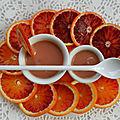Orange curd {pâte à tartiner à l'orange}