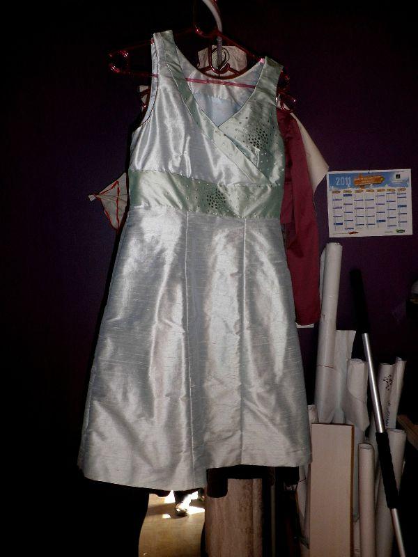 robe en soie sauvage/ Purplely