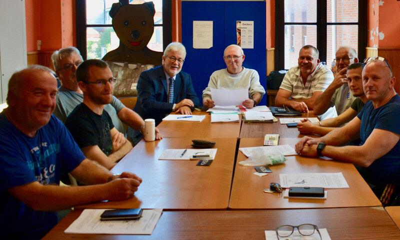AG AVANT GARDE COLOMBOPHILE 2018 réunion