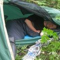 Petite tente = petit espace de vie