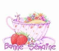 bonne semaine tasse et fraises 23 11 2015