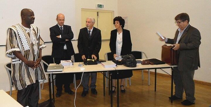 Le jury valide la thèse