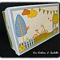 Boîte à enveloppes anniversaire, 40 ans