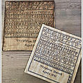 Sampler de Tryphena (1841) Reproduction