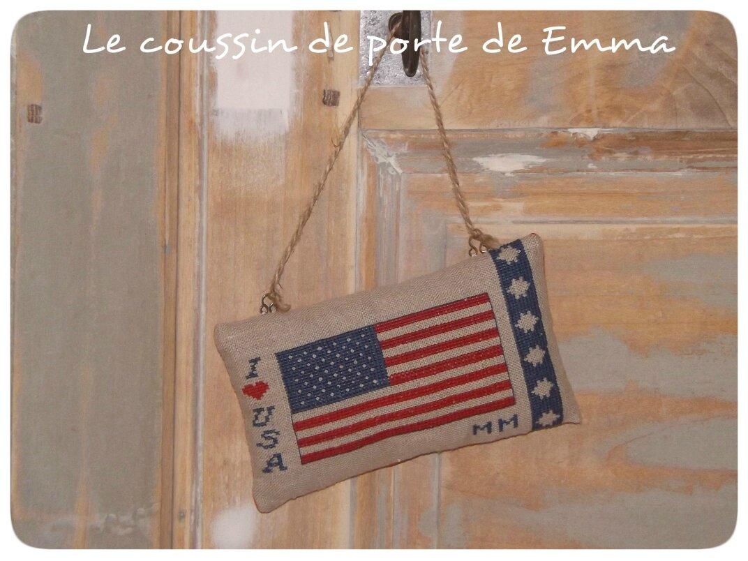 Emma Drapeau Américain Finition