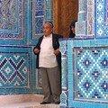 Un descendant de Timur à Chah i Inza (Samarcande)