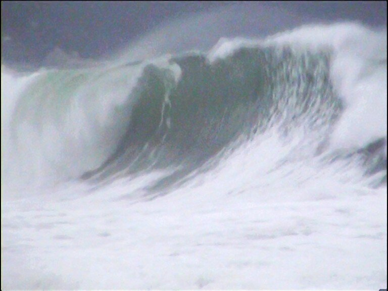 Lame de Shorebreak , Houle de Sud - Ouest .