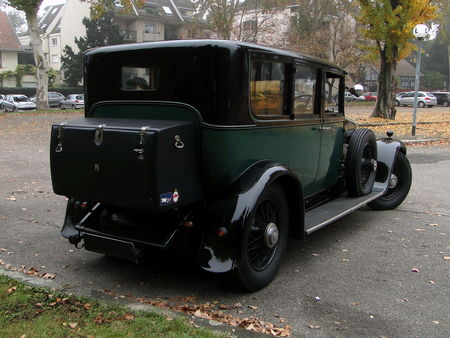 ROLLS ROYCE Phantom I Hooper 1929 Retrorencard 8