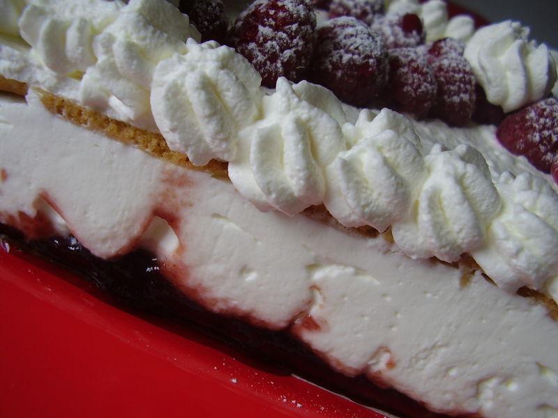 gâteau au fromage blanc façon Lenôtre