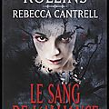 Le sang de l'alliance - james rollins et rebecca cantrell - editions fleuve noir
