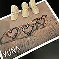 La nouvelle collection de bijoux yuna est arrivée ... a accumuler sans réserve ...