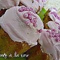 Cupcake à la rose