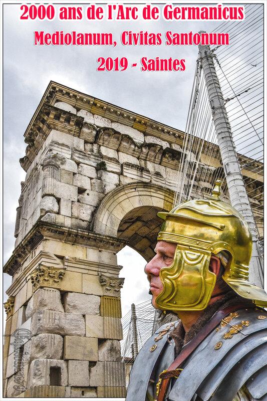 2000 ans de l'Arc de Germanicus Mediolanum, Civitas Santonum 2019 – Saintes